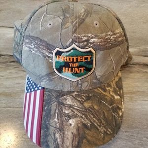 🦄 Camo Hunting American Hat Green Brown